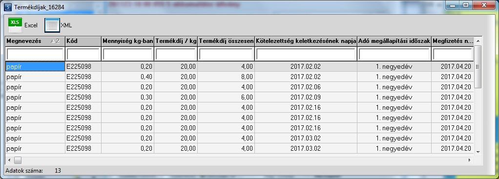 720bb13314a3 Csomagolási környezetvédelmi termékdíj kezelés - Stock2000 ...